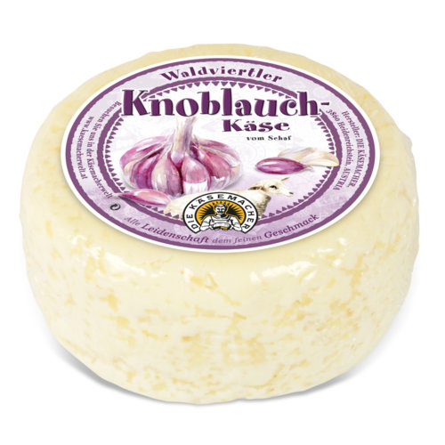 Waldviertler sheep´s milk cheese with garlic