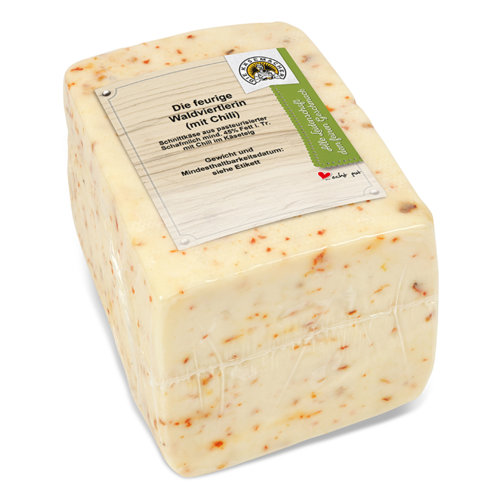 Aromatic cheese with chili from the Waldviertel region