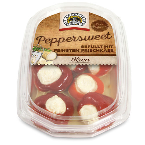 Peppersweet filled horseradish fresh cheese