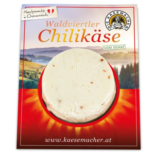 Waldviertler sheep's milk cheese with chili