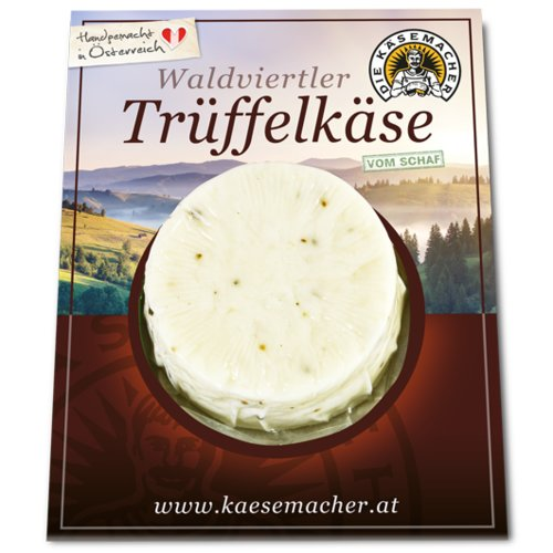 Waldviertler sheep's milk cheese with truffle