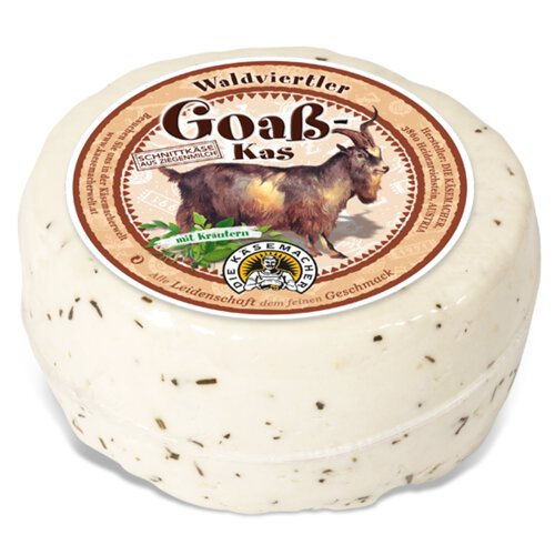 Waldviertler goat´s milk cheese with herbs