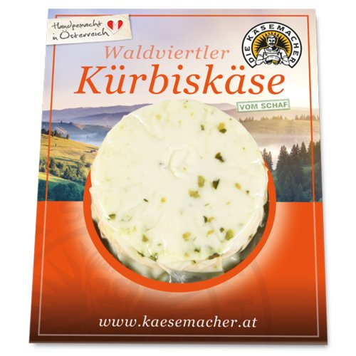 Waldviertler sheep's milk cheese with pumpkin seeds