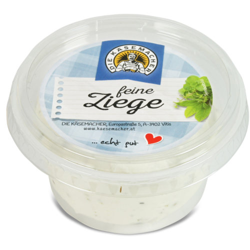 Exquisite goat's milk cheese spread