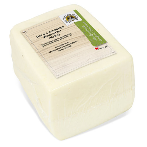 Aromatic cheese from the Waldviertel region